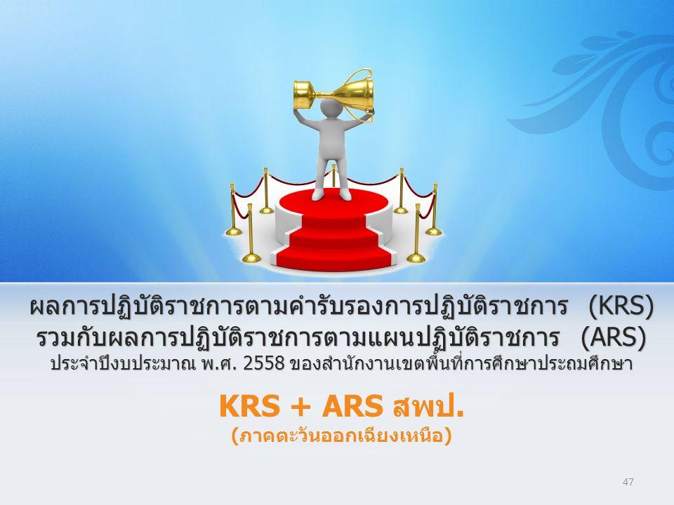 47 KRS + ARS สพป. (ภาคตะวันออกเฉียงเหนือ)