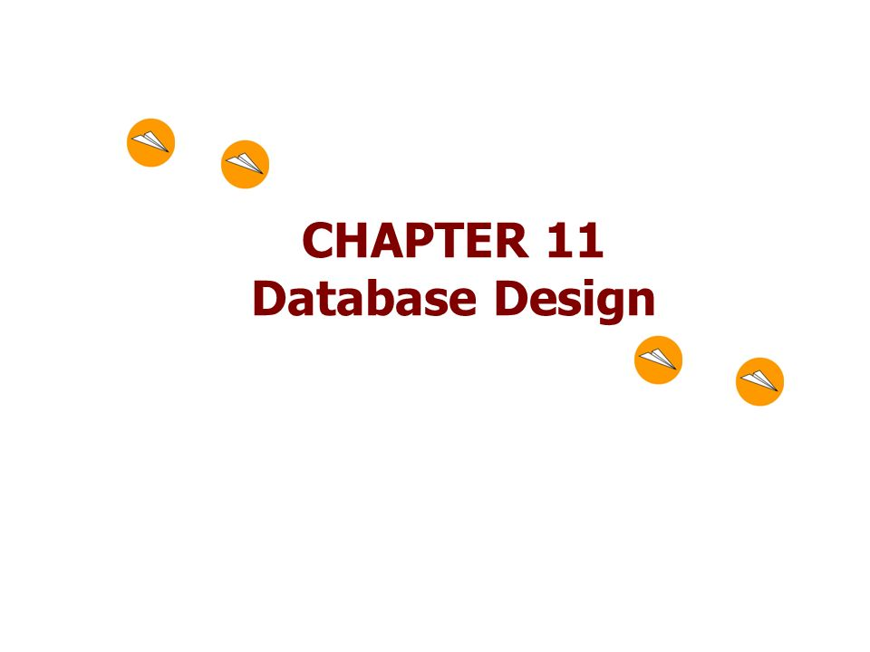 CHAPTER 11 Database Design