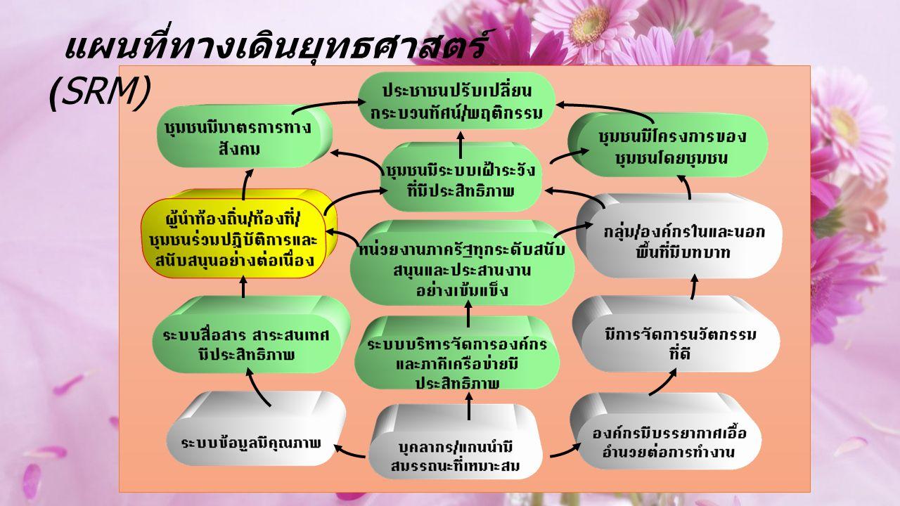 แผนที่ทางเดินยุทธศาสตร์ (SRM)