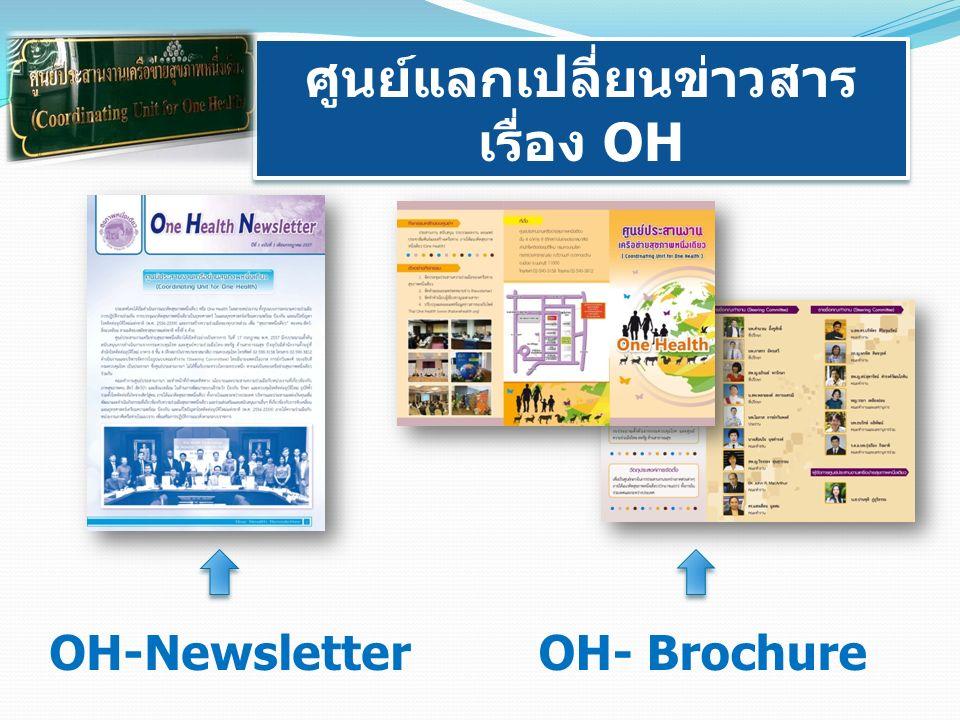 ศูนย์แลกเปลี่ยนข่าวสาร เรื่อง OH ศูนย์แลกเปลี่ยนข่าวสาร เรื่อง OH OH- BrochureOH-Newsletter