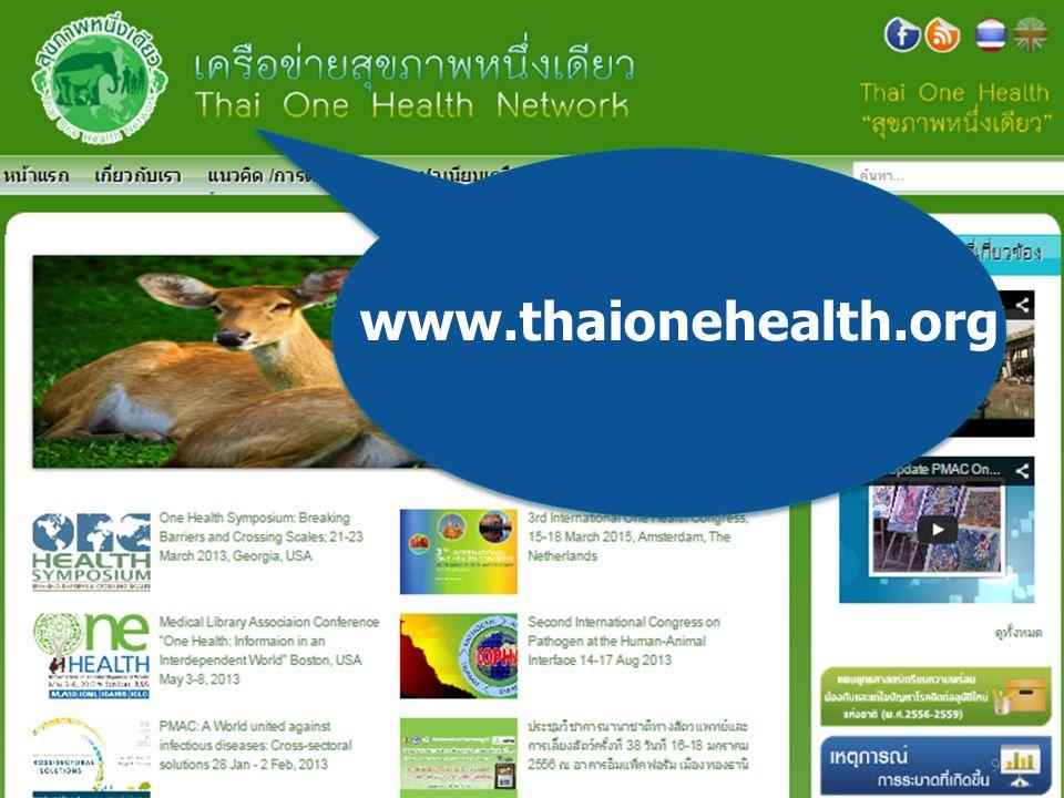 www.thaionehealth.org 9