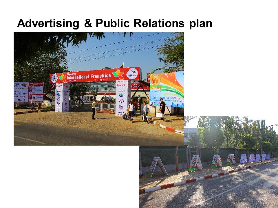 Advertising & Public Relations plan