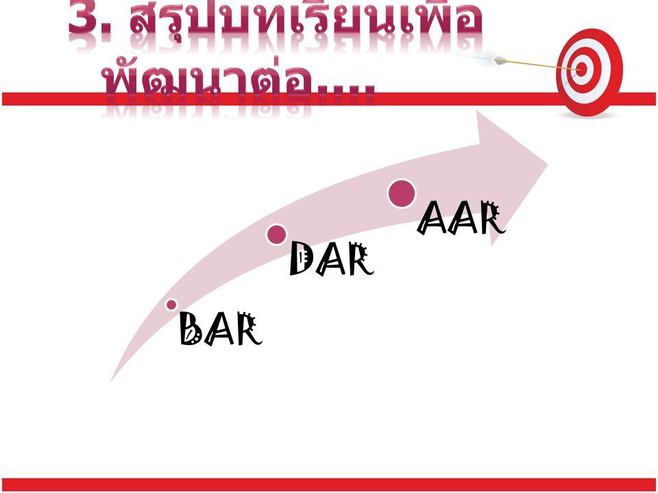 BAR DAR AAR