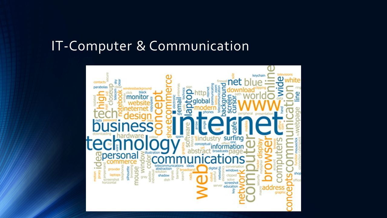 IT-Computer & Communication