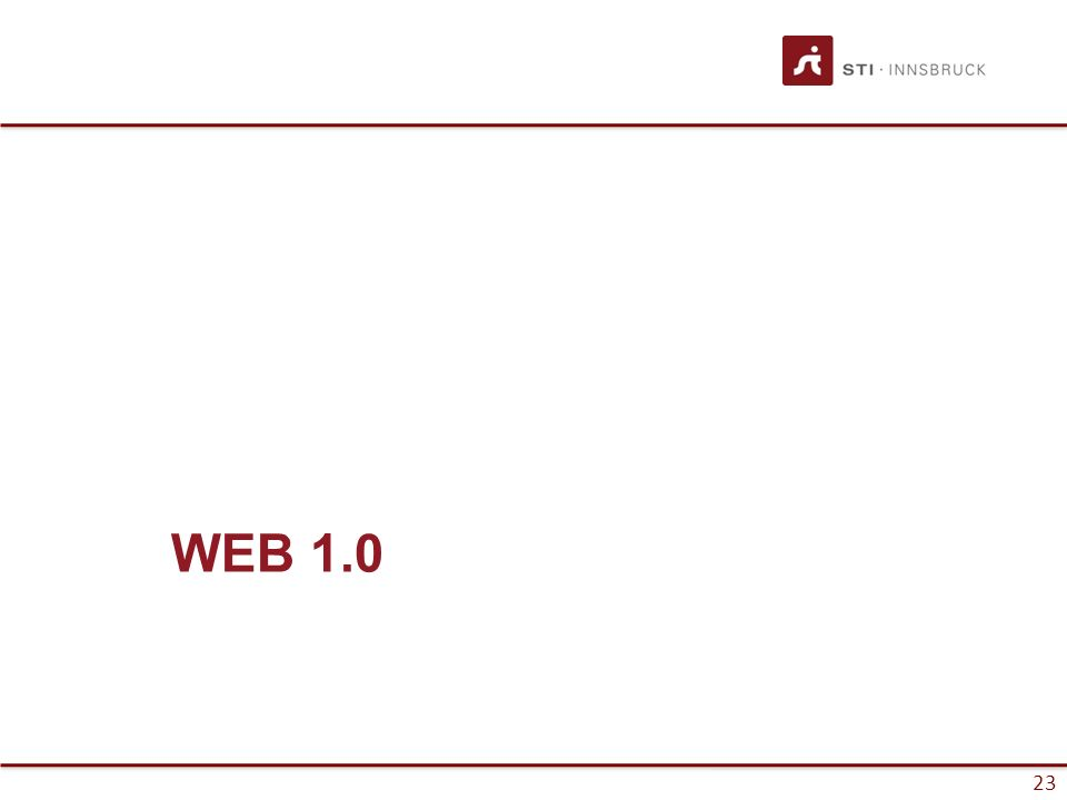 23 WEB 1.0