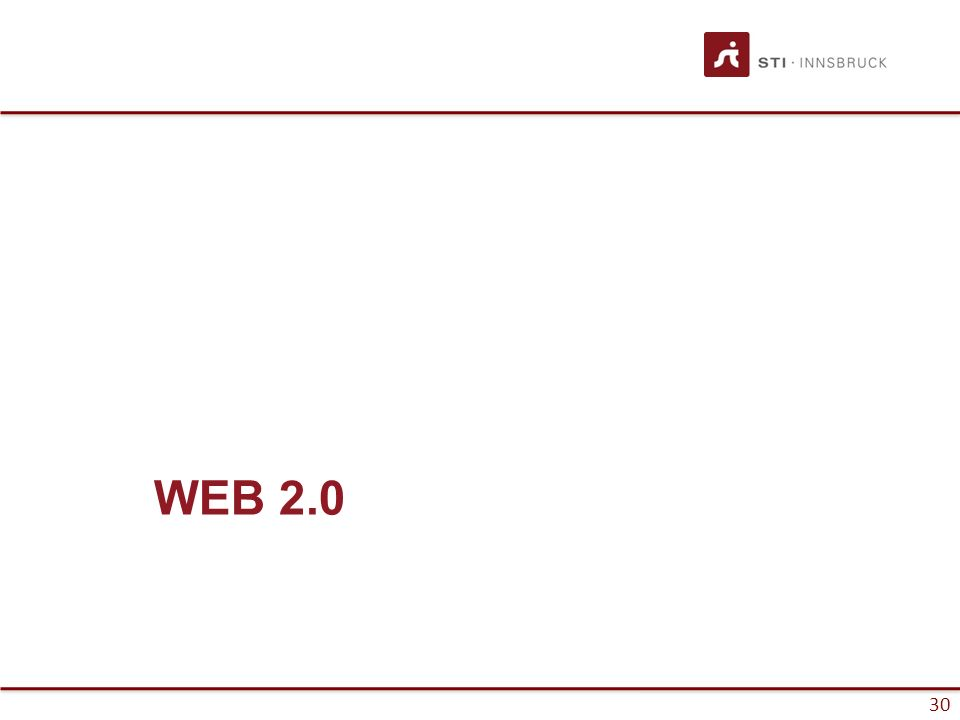 30 WEB 2.0