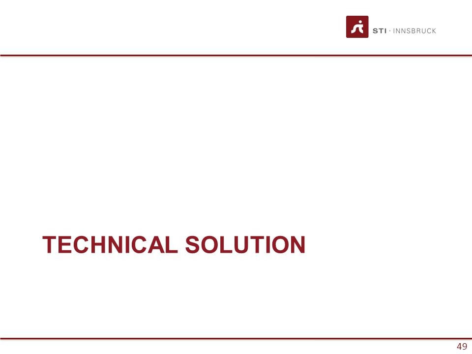 49 TECHNICAL SOLUTION