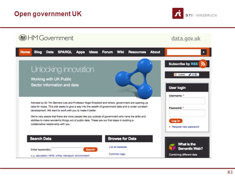 83 Open government UK