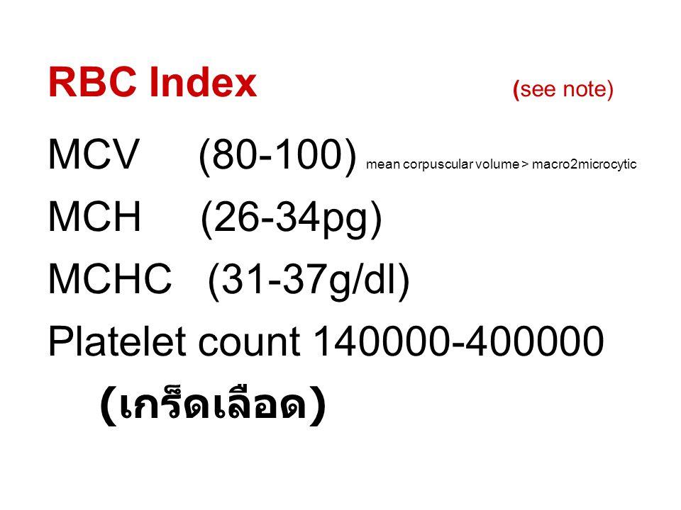 ตรวจปัสสาวะด้วยกล้อง WBC 0 - 5 cells/hpf RBC 0 - 5 cells/hpf Epithelial cells cells/hpf Bacteria Mocous thread Cast lpf Others low profile