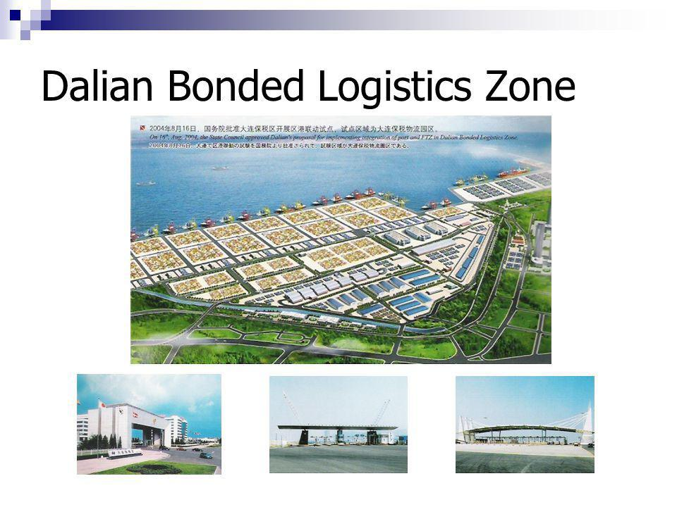 VAT refund unpon Zone-entering  The Bonded Logistics Park enjoys the same preferential treatments as adopted by Free Trade Zone.