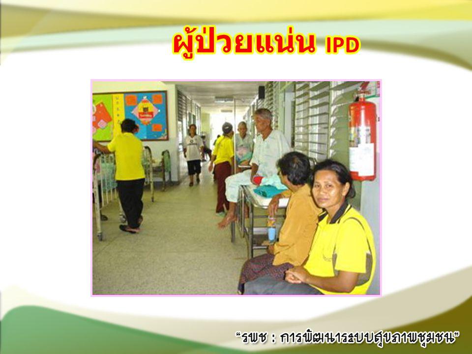 ผู้ป่วยแน่น IPD