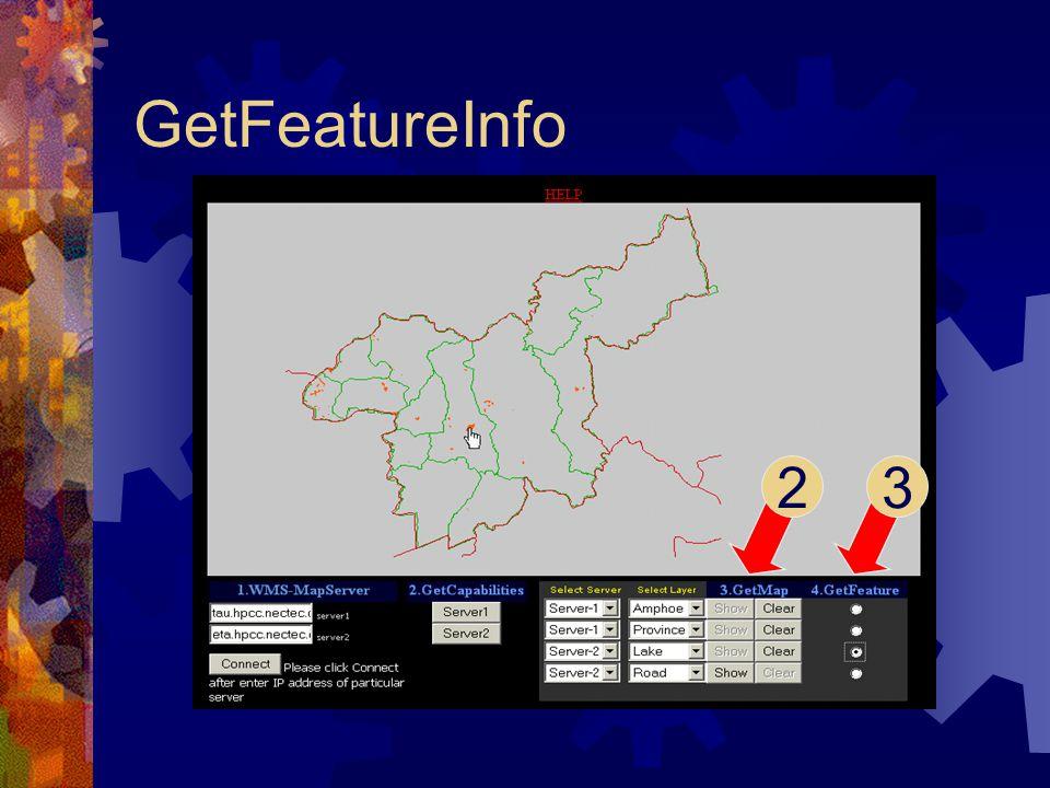 GetFeatureInfo 23