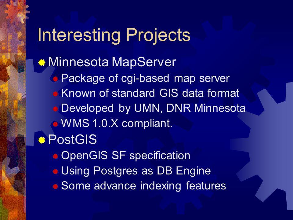 Interfacing with Minnesota MapServer