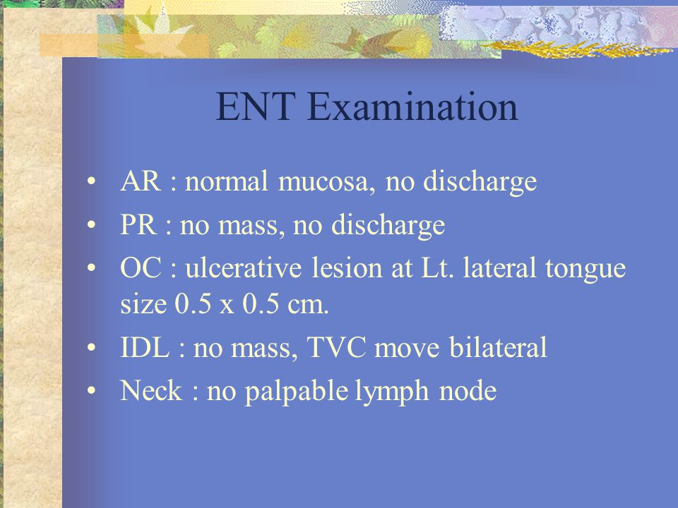Management of contralateral N0 •14% incidence of involvement of contralateral neck node regardless of tumor stage •If primary oral cavity cancer is midline location, bilaterally, along the tip of tongue or approaches or cross the midline