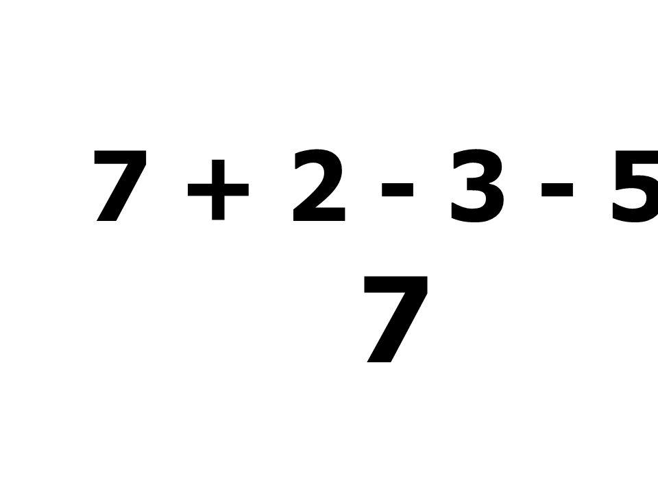 99 - 43 - 51 + 2 = 7