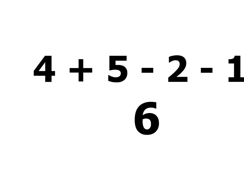 9 - 8 + 7 - 6 = 2