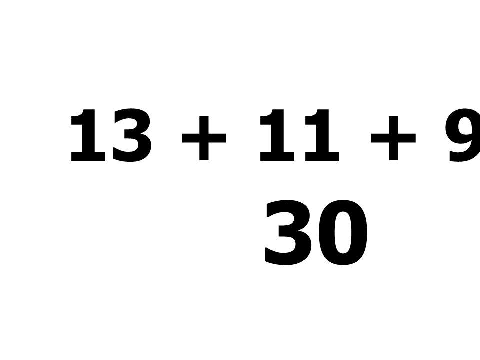 17 + 9 + 50 - 66 = 10