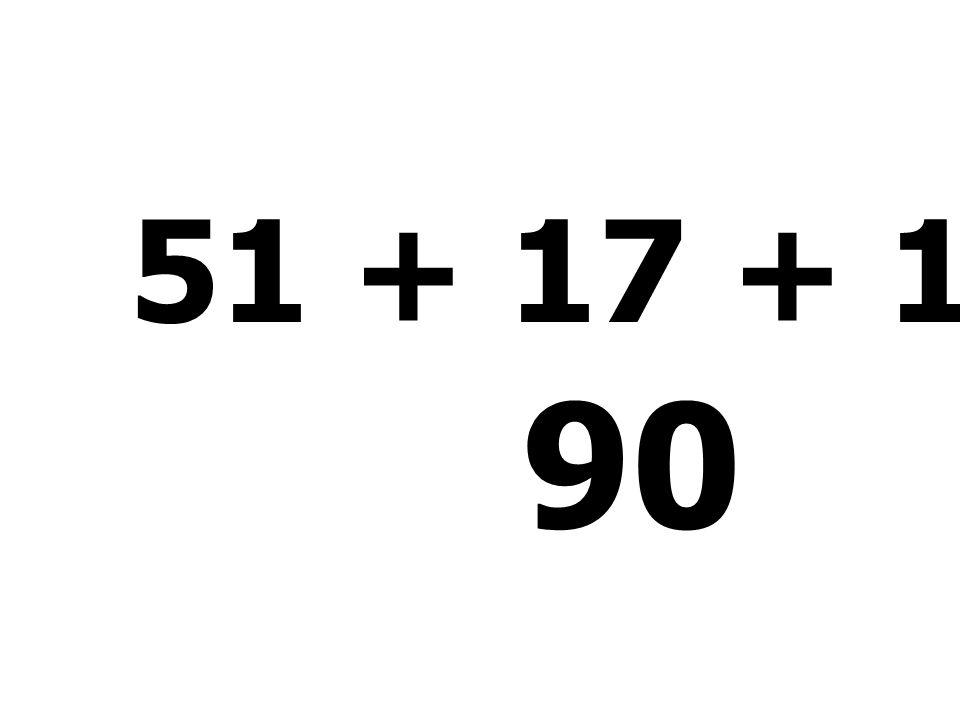 39 + 4 + 51 - 43 = 51