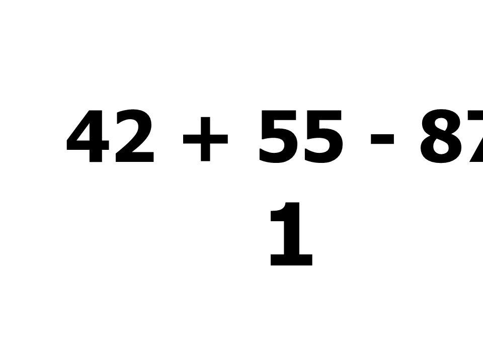51 + 17 + 17 + 5 = 90