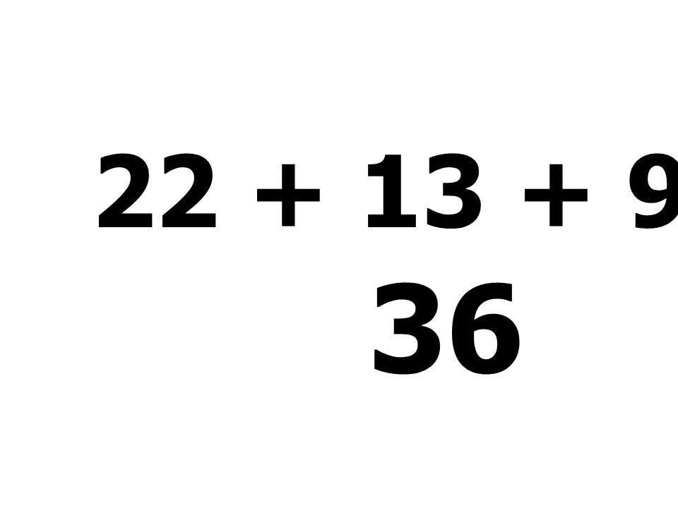 74 - 27 - 7 - 38 = 9