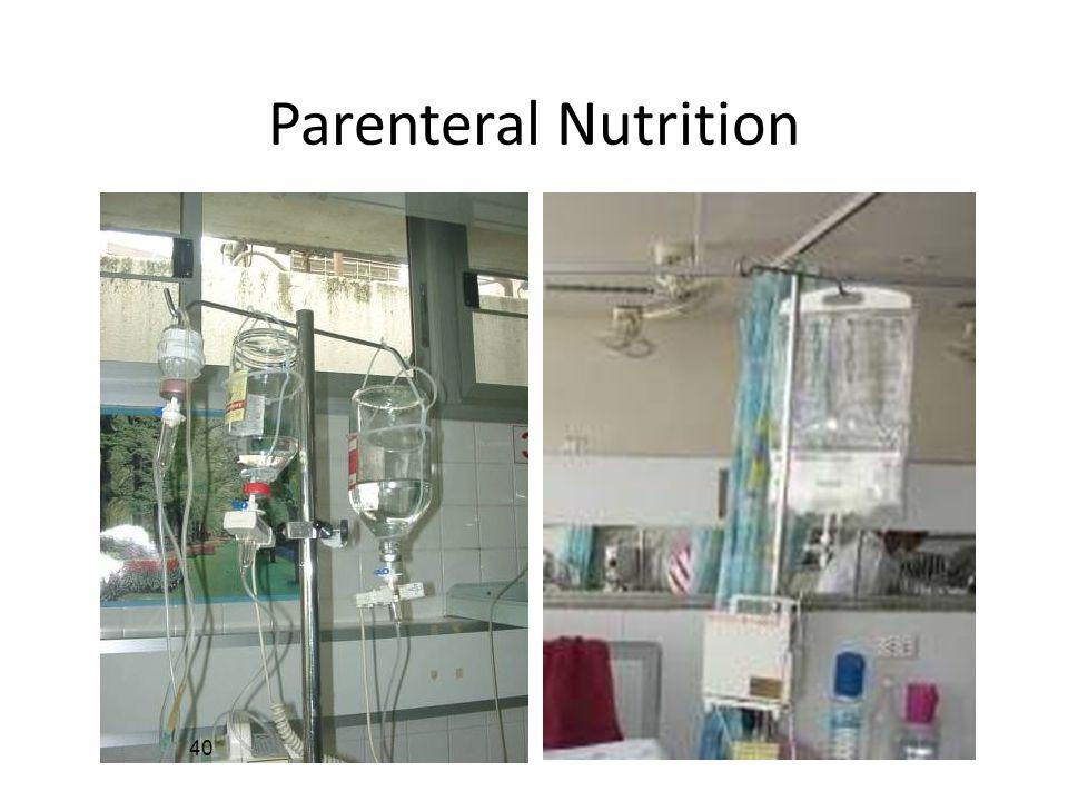 40 Parenteral Nutrition