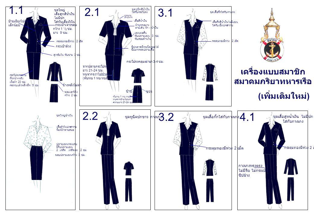 ชุดทูนิคสีน้ำเงิน ใส่กับกระโปรง ปกขาว ต่างหาก เสื้อสีน้ำเงิน ผ้าผูกคอบาง ลายเส้น ฟ้า - น้ำเงิน แขนต่อสั้น พับปลายแขน 3 ซม.