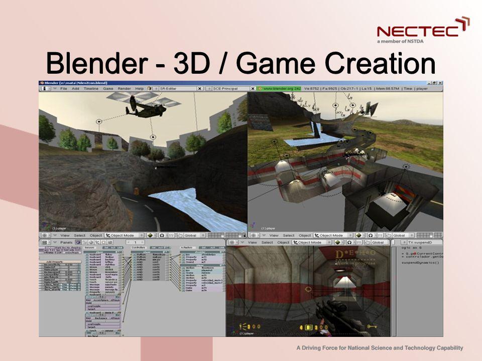 Blender - 3D / Game Creation