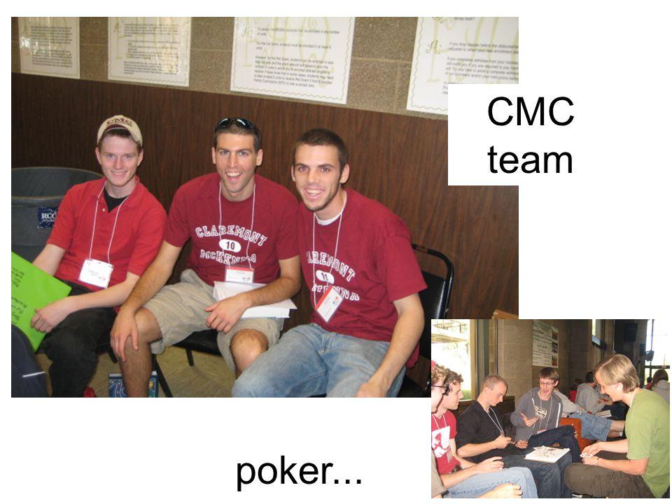 CMC team poker...