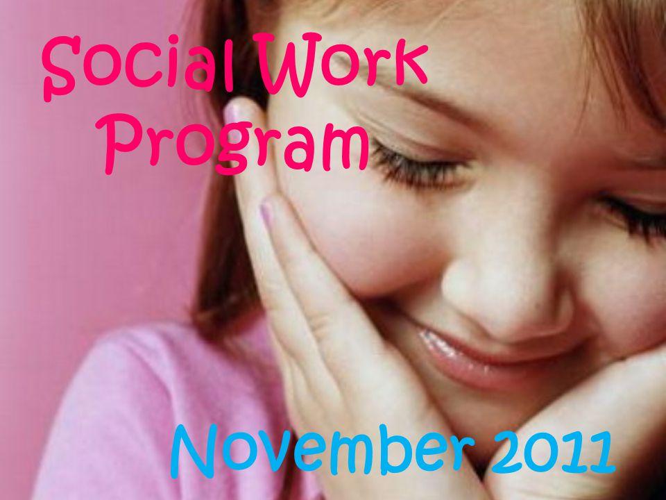 Social Work Program November 2011