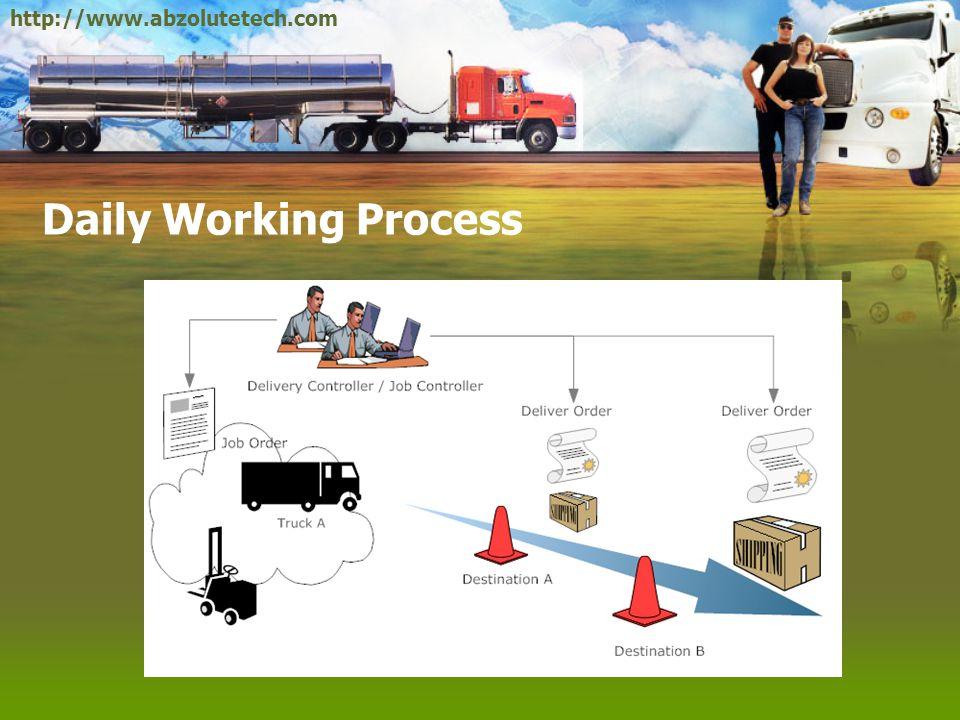 Delivery Order •B2B: มักเป็นการขนส่งสินค้าหรือวัตถุดิบจำนวนมาก และ มักมีแผนการขนส่งล่วงหน้า เป็นระยะๆ ตามที่ได้ตกลงกัน ไว้ •B2C: มักเป็นการขนส่งสินค้าจำนวนไม่มากนัก โดยแต่ละ รอบจะแวะไปส่งหลายจุด ที่อยู่บนเส้นทางเดียวกัน ความถี่ มักจะไม่แน่นอนขึ้นอยู่กับการสั่งซื้อของลูกค้า •แบบผสม เช่น การส่งของให้กับร้านขายส่ง เป็นต้น •Distribution: เป็นการขนส่งสินค้าไปยัง Warehouse ย่อยๆ ของบริษัทซึ่งจะกระจายอยู่ตามภูมิภาคต่างๆ http://www.abzolutetech.com