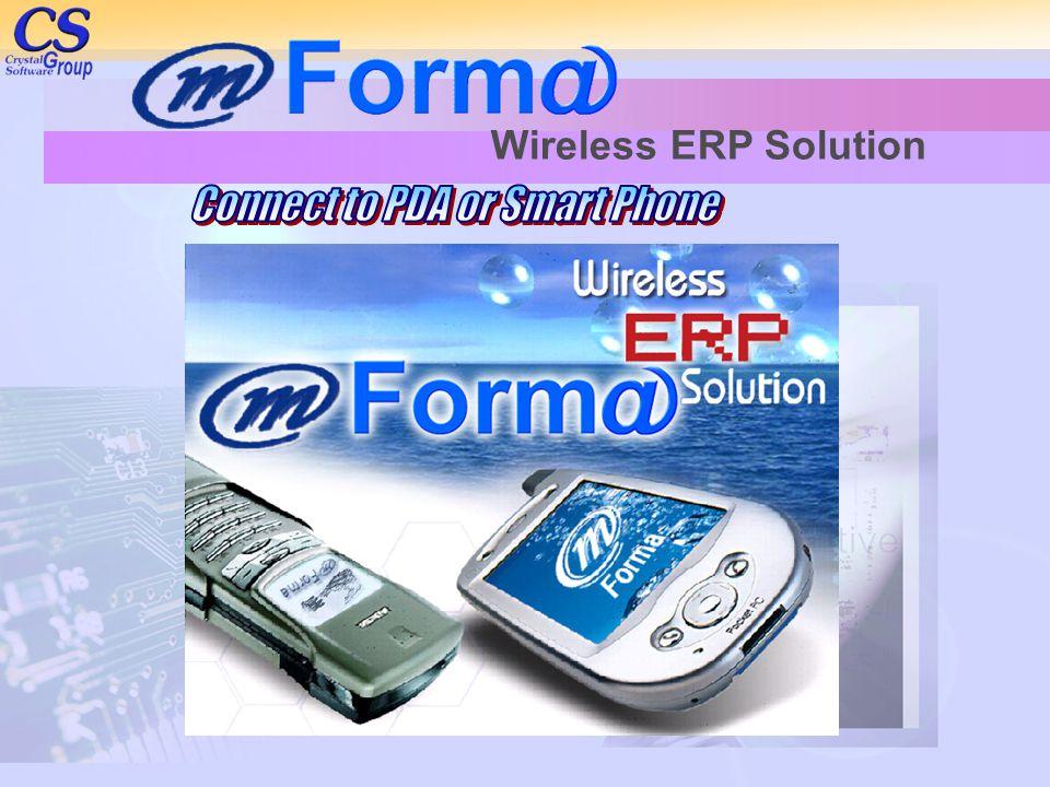 Wireless ERP Solution