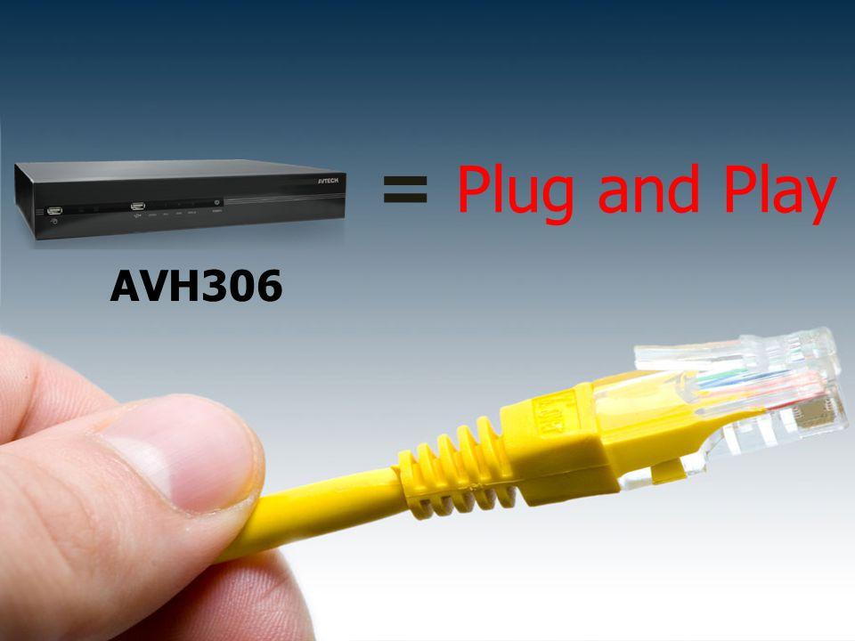 = Plug and Play AVH306