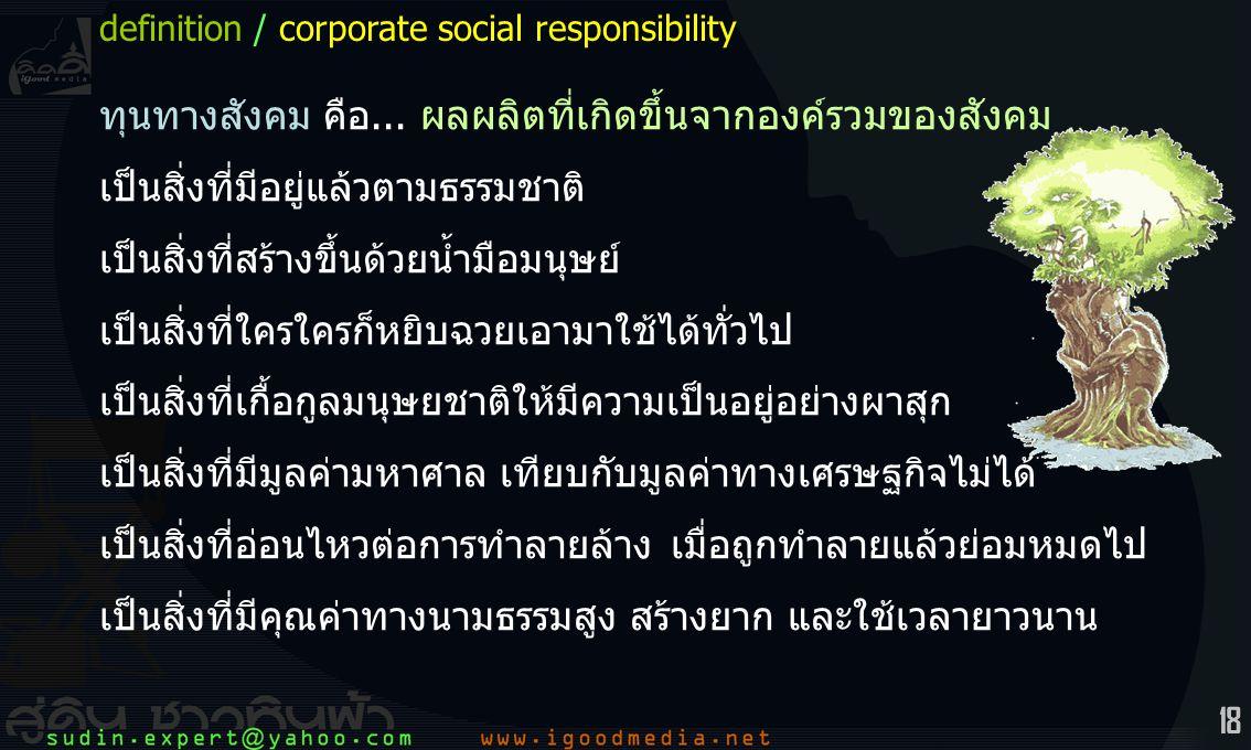 18 ทุนทางสังคม คือ...