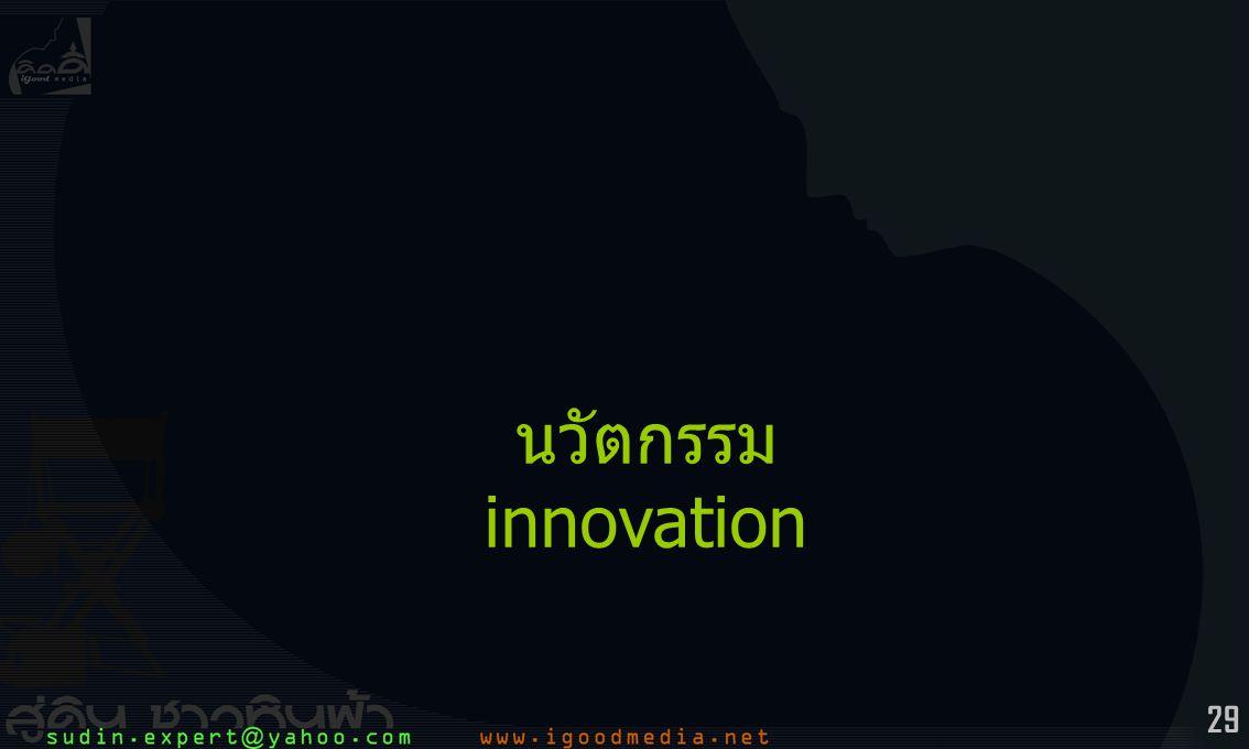 29 นวัตกรรม innovation