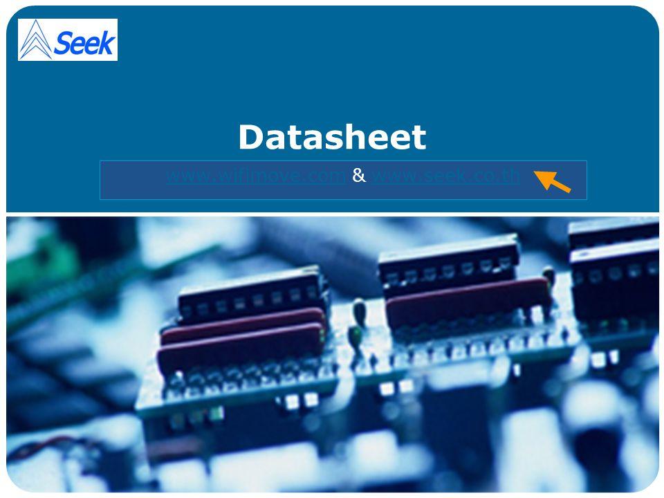 LOGO Datasheet www.wifimove.comwww.wifimove.com & www.seek.co.thwww.seek.co.th