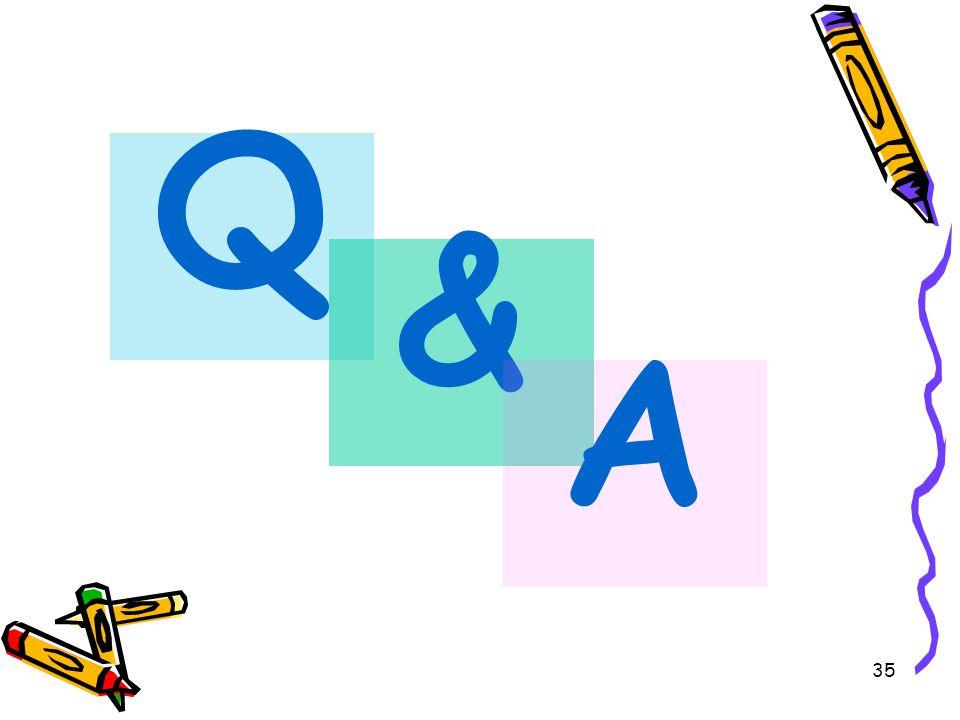 35 Q & A