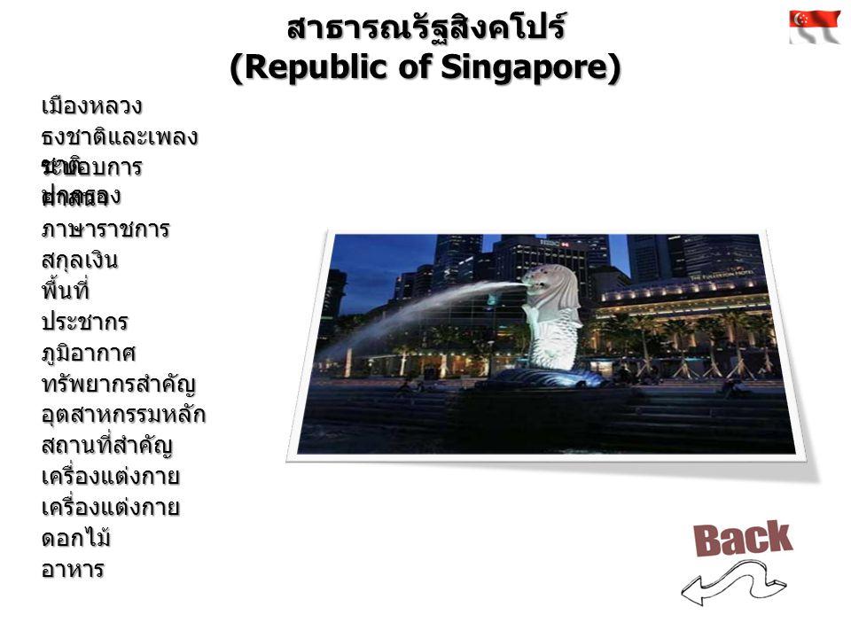 สาธารณรัฐสังคมนิยมเวียดนาม (Socialist Republic of Vietnam) เมืองหลวง ธงชาติและเพลง ชาติ ระบอบการ ปกครอง ศาสนา ภาษาราชการ สกุลเงิน พื้นที่ ประชากร ภูมิอากาศ ทรัพยากรสำคัญ อุตสาหกรรมหลัก สถานที่สำคัญ เครื่องแต่งกาย เครื่องแต่งกาย ดอกไม้ อาหาร