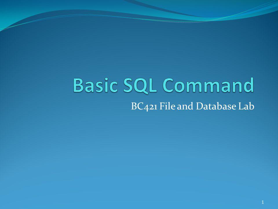 DBMS Definition  ฐานข้อมูล (Database)  กลุ่มของข้อมูลที่ถูกเก็บรวบรวมไว้ในที่เดียวกันอย่างเป็นระบบ เพื่อให้สามารถค้นหา แก้ไข ลบ เพิ่มเติมได้อย่างมี ประสิทธิภาพ  เทเบิล (Table)  เป็นส่วนที่เก็บข้อมูลที่เกี่ยวกับสิ่งใดสิ่งหนึ่งไว้  เรคอร์ด (Record) และ ฟิลด์ (Field)  Table จะแบ่งออกเป็น Row และ Column โดยแต่ละแถวคือ ข้อมูล 1 รายการ หรือ 1 record, ข้อมูลแต่ละส่วนของ record จะถูกแยกเก็บไว้ใน Column ต่างๆซึ่งเรียกว่า Field 2