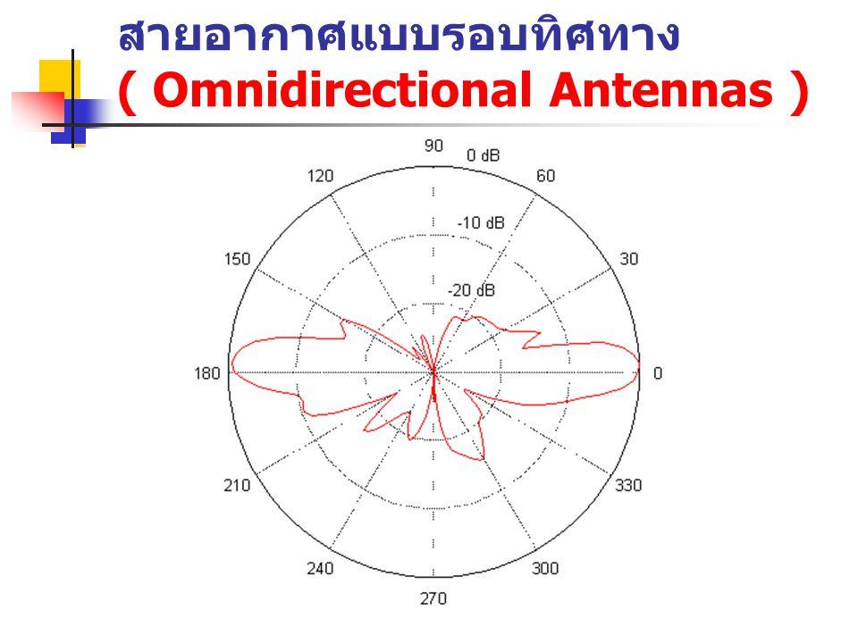 สายอากาศแบบรอบทิศทาง ( Omnidirectional Antennas )