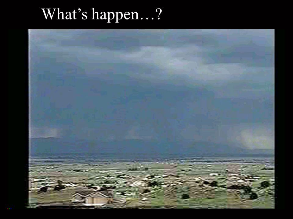 What's happen…?