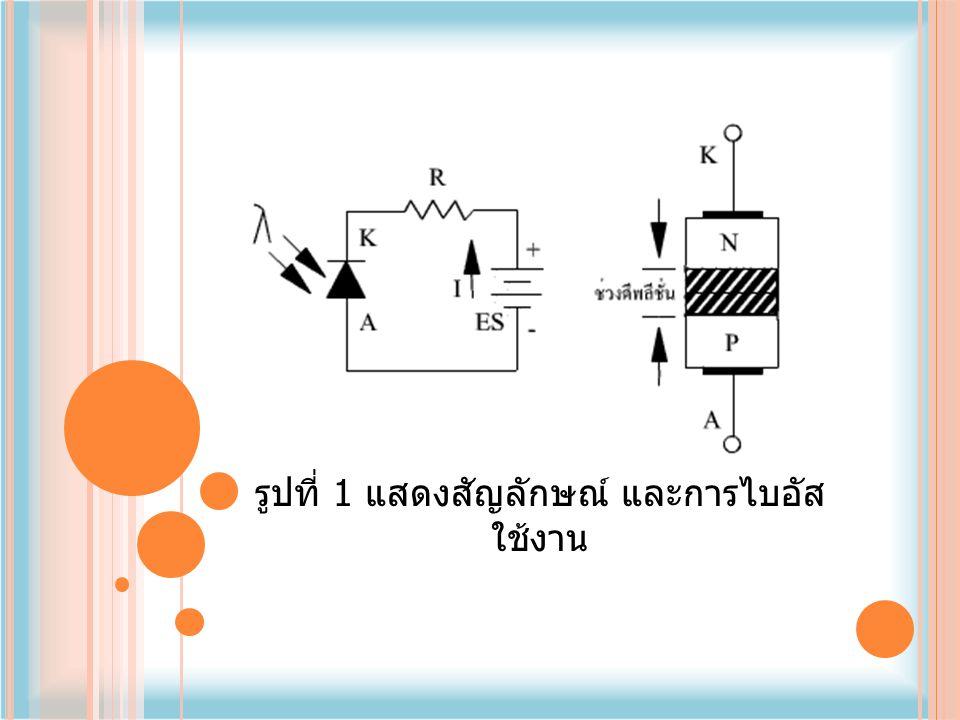 โฟโต้ไดโอดเมื่อเทียบกับ LDR ( ตัว ต้านทานที่แปรค่าตามแสง ) แล้วโฟโต้ ไดโอดมีการเปลี่ยนแปลงค่าความต้านทาน เร็วกว่า LDR มาก จึงนิยมนำไปประยุกต์ งานในวงจรที่ต้องการความเร็วสูง เช่น เครื่องนับสิ่งของ, ตัวรับรีโมทคอนโทรล, วงจรกันขโมยอินฟาเรดเป็นต้น เนื่องจากโฟโต้ไดโอดให้ค่าการ เปลี่ยนแปลงของกระแสต่อแสงต่ำ คืออยู่ ในช่วง 1-10 A เท่านั้น ดังนั้นการใช้งานโฟ โต้ไดโอดจึงต้องมีตัวขยายกระแสเพิ่มเติม ผู้ผลิตจึงหันมาใช้ทรานซิสเตอร์เป็นตัว ขยายกระแสเพิ่มเติมอยู่ในตัวถังเดียวกัน ซึ่งเรียก ว่าโฟโต้ทรานซิสเตอร์ (Photo Transistor)