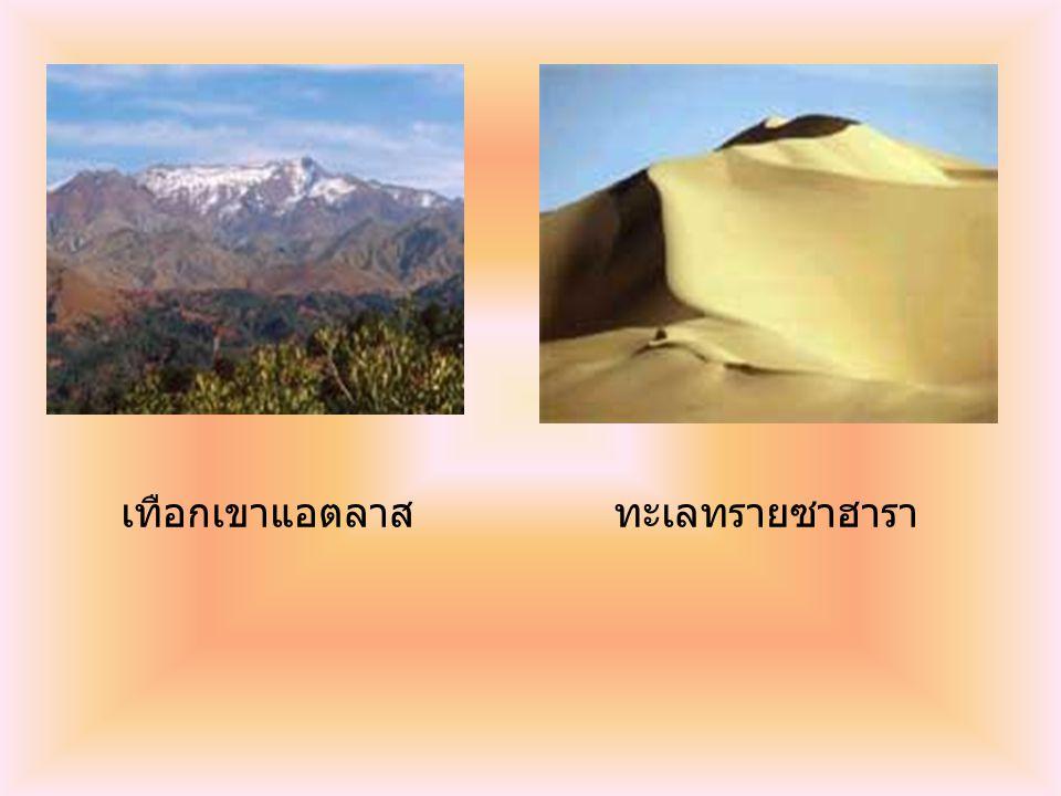 เทือกเขาแอตลาสทะเลทรายซาฮารา
