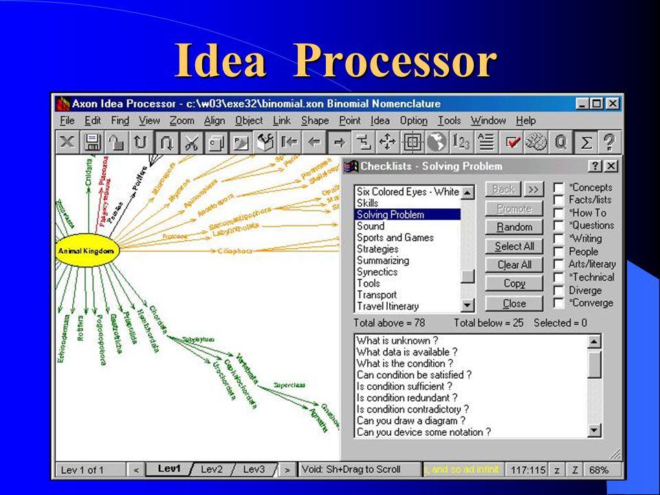 Idea Processor