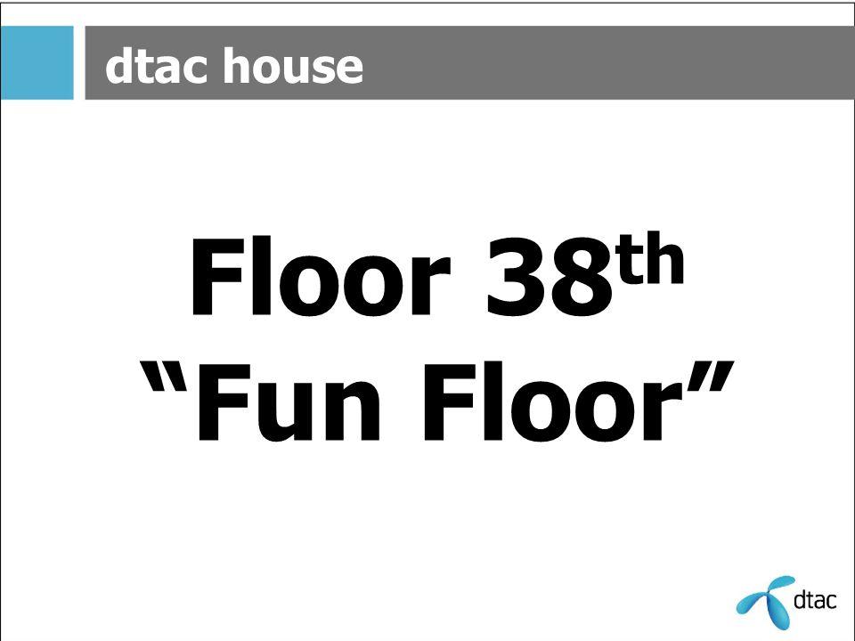 dtac house F.38 ชั้น 38 นี้ ท่านจะพบจุดเด่นแรก คือ ลู่วิ่งรอบชั้นครับ...วิ่งไปก็ชมวิวไป ว้าววว...