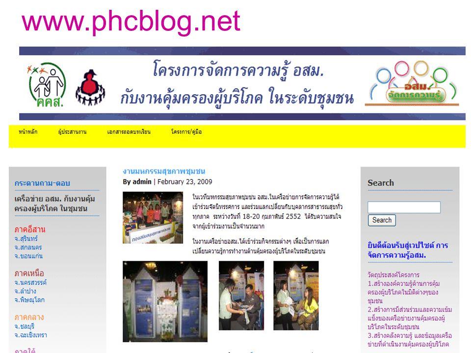 www.phcblog.net