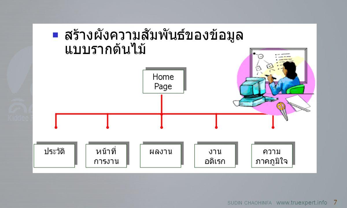 SUDIN CHAOHINFA www.truexpert.info 7