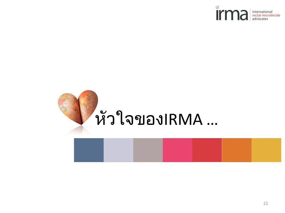 หัวใจของ IRMA … 22