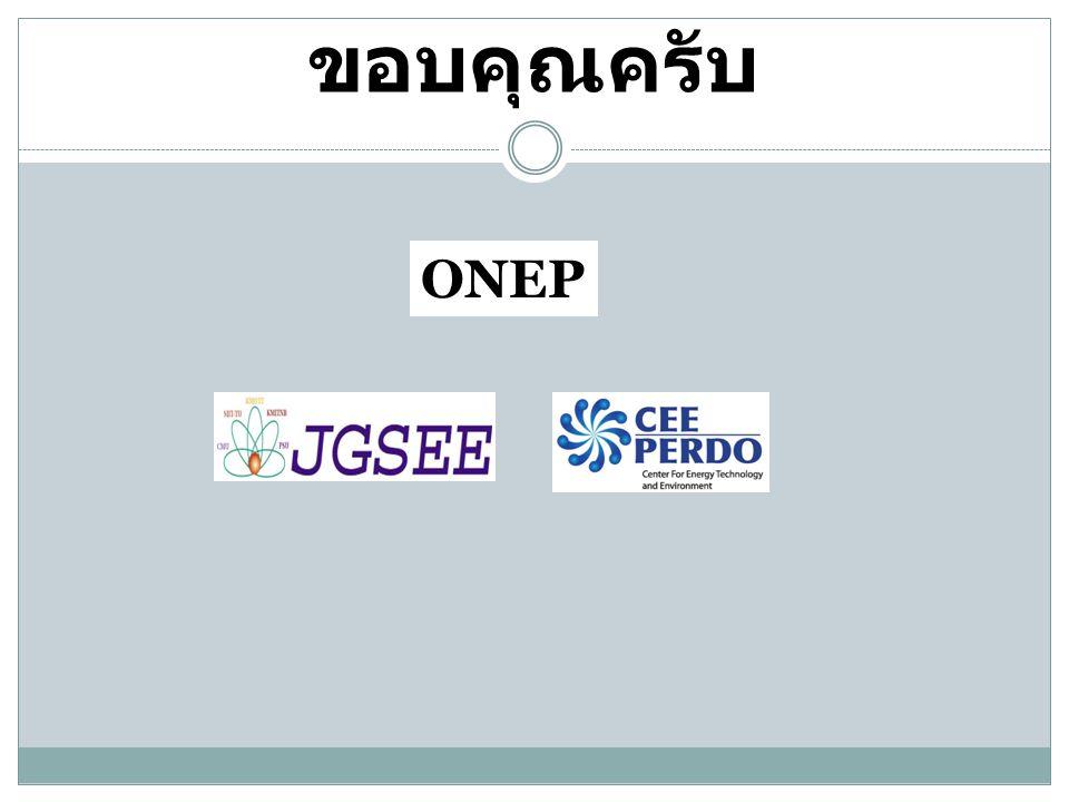 ขอบคุณครับ ONEP