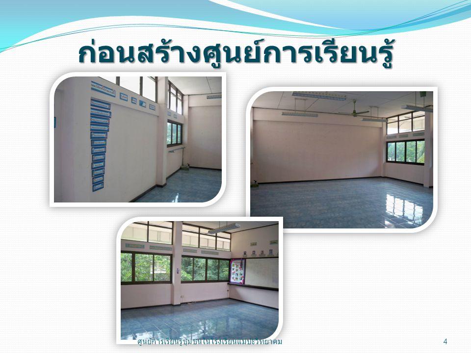 14 กันยายน 2554 ผู้ปกครองนักเรียนเยี่ยม ชมศูนย์การเรียนรู้ 15 ศูนย์การเรียนรู้ชุมชนในโรงเรียนแม่ปะวิทยาคม