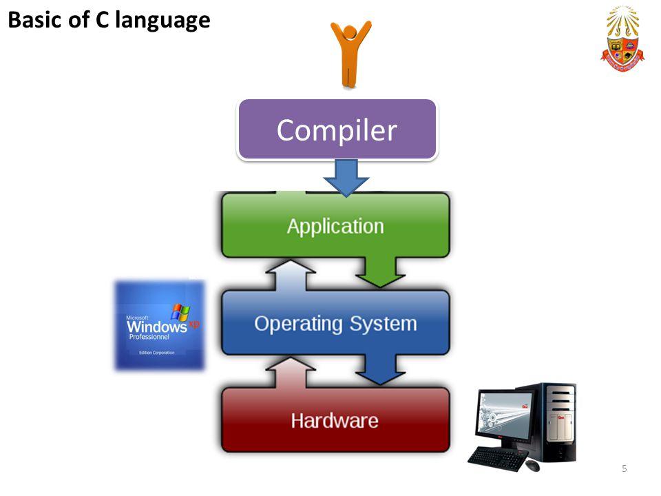 Compiler 5 Basic of C language